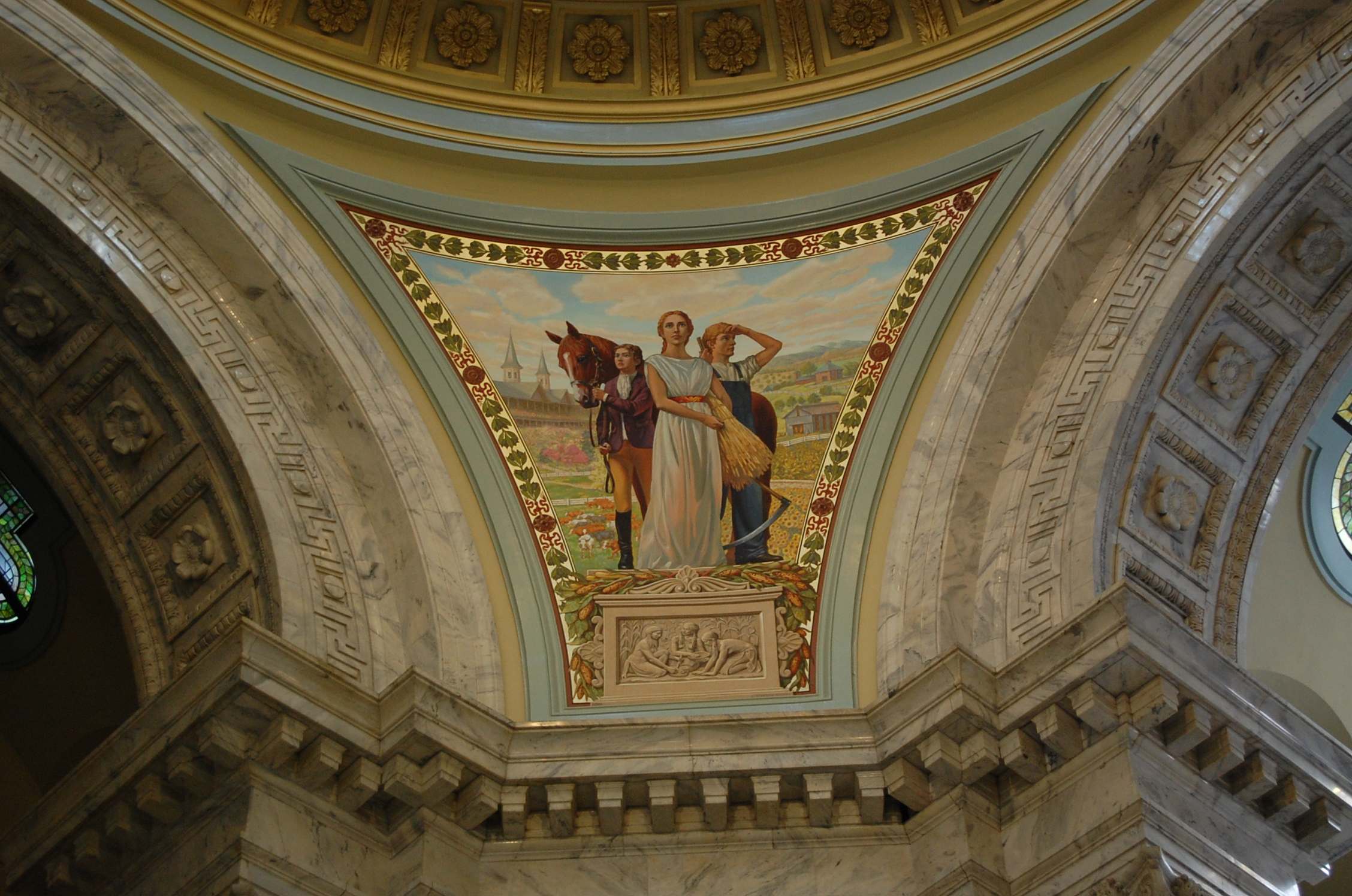 Rotunda Murals Kentucky Capitol